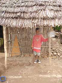 A normal house from kenya people